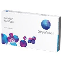 Biofinity Multifocal contact lenses