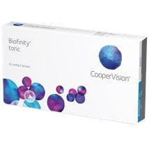 Biofinity Toric contact lenses