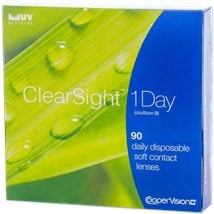 Clearsight 1 day 90pk contact lenses