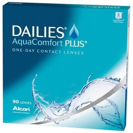 DAILIES AQUACOMFORT PLUS 90pk contacts