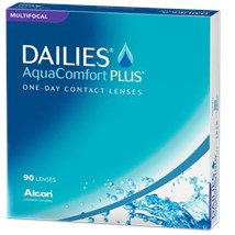 DAILIES AQUACOMFORT PLUS Multifocal 90pk contact lenses