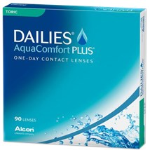 DAILIES AQUACOMFORT PLUS Toric 90pk contact lenses