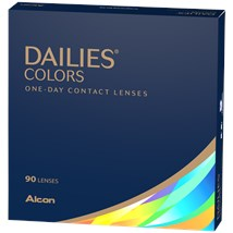 DAILIES Colors 90pk contact lenses