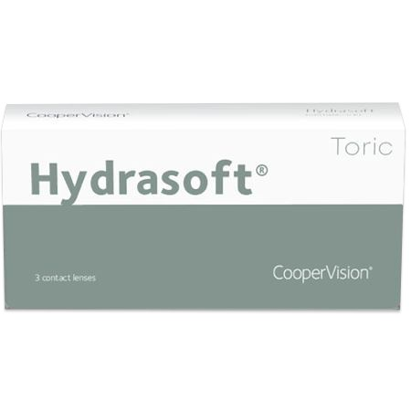Hydrasoft toric (3 pack) contacts
