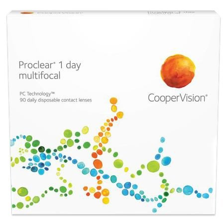 Proclear 1 day multifocal 90pk contacts