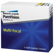 PureVision Multi-Focal contact lenses
